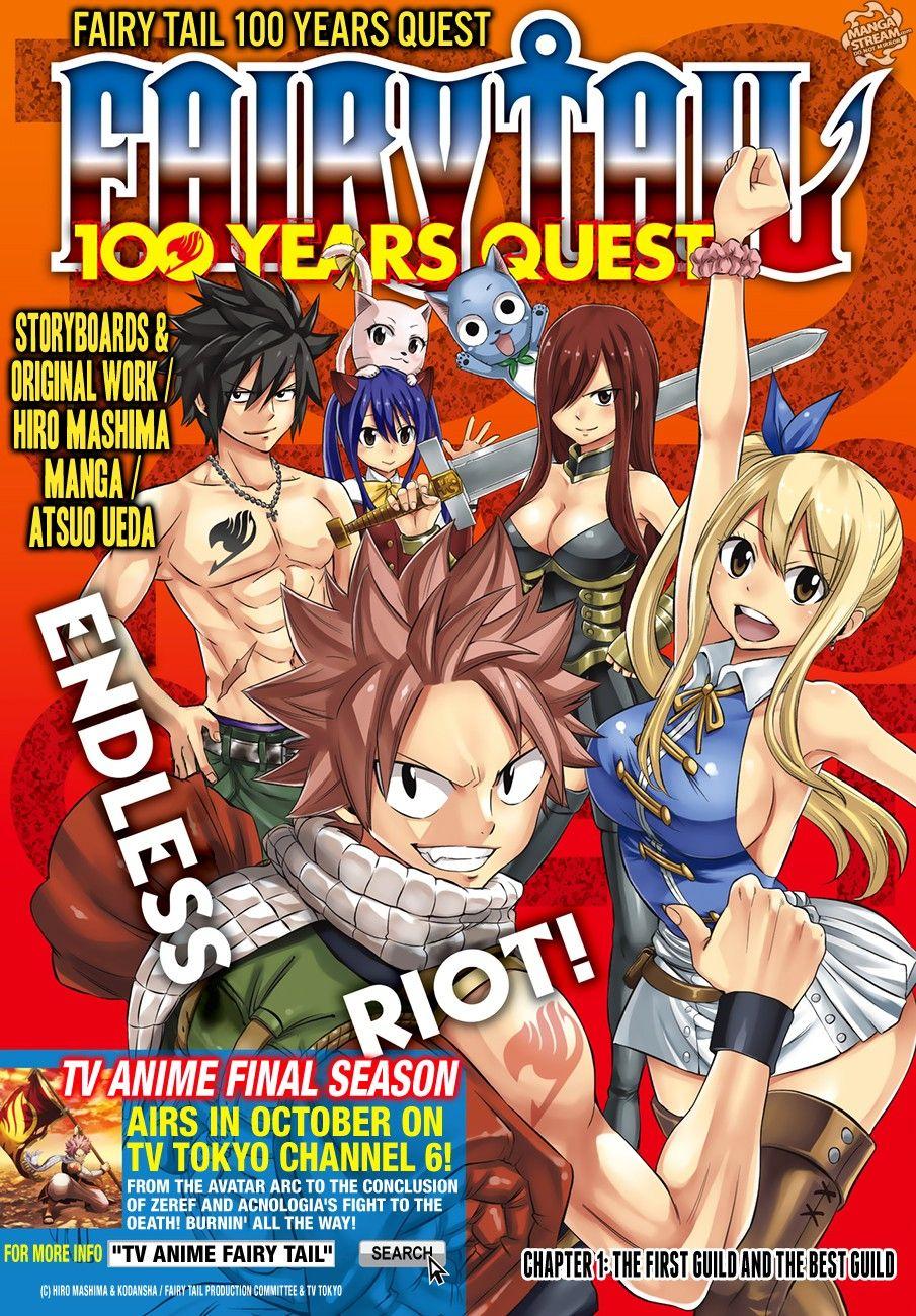 Fairy Tail 100 Years Quest Fairy Tail Manga Fairy Tail Fairy