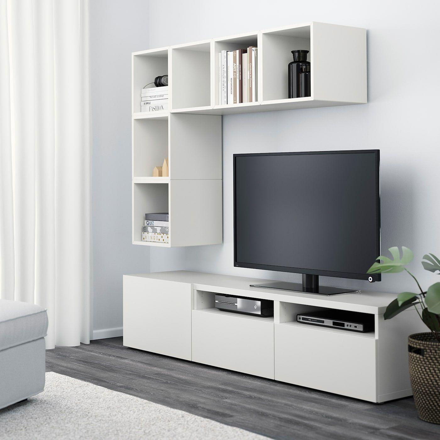 Meuble Tv Colonne Ikea ikea - bestÅ / eket tv storage combination white in 2020