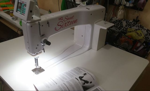 Live And Dye Color Why I Chose The Handi Quilter Sweet Sixteen HQ Extraordinary Hq Sweet 16 Sewing Machine