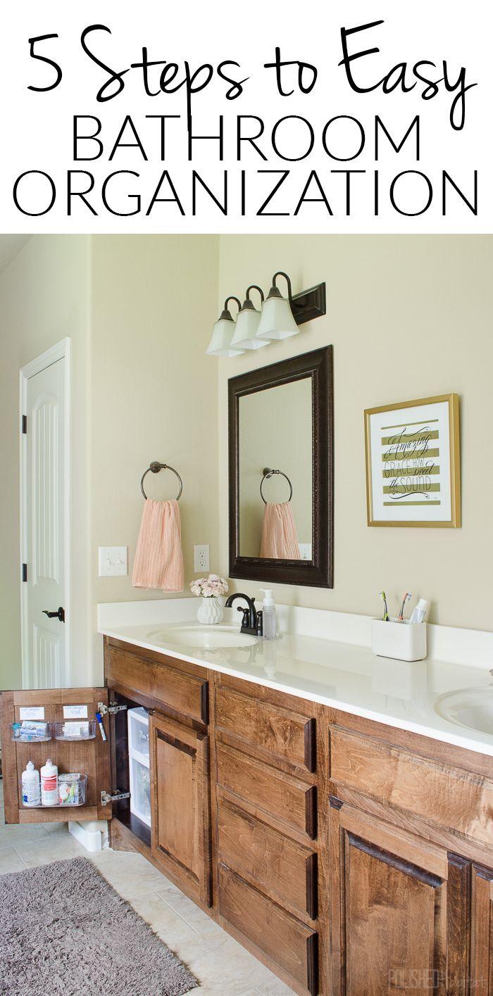 Under Sink Organizing in 5 Easy Steps {Bathroom Side 2   Bathroom ...