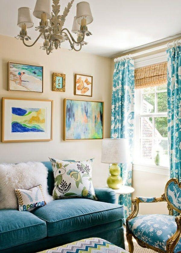 Nice Wandfarben Fürs Wohnzimmer U2013 100 Trendy Wohnideen Für Ihre  Wandgestaltung