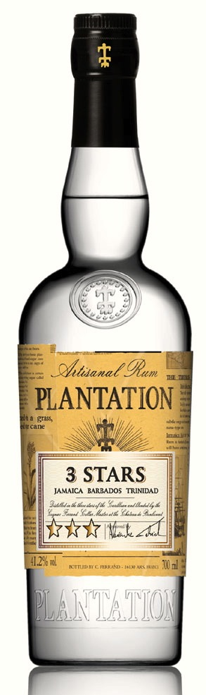 Plantation 3 Stars. From Jamaica, Barbados and Trinidad.