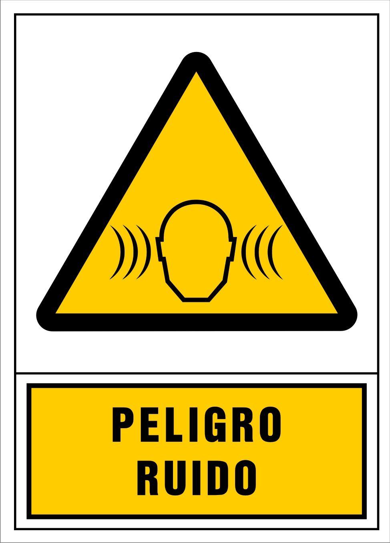 Señal Peligro Ruido Signs Signage Novelty Sign