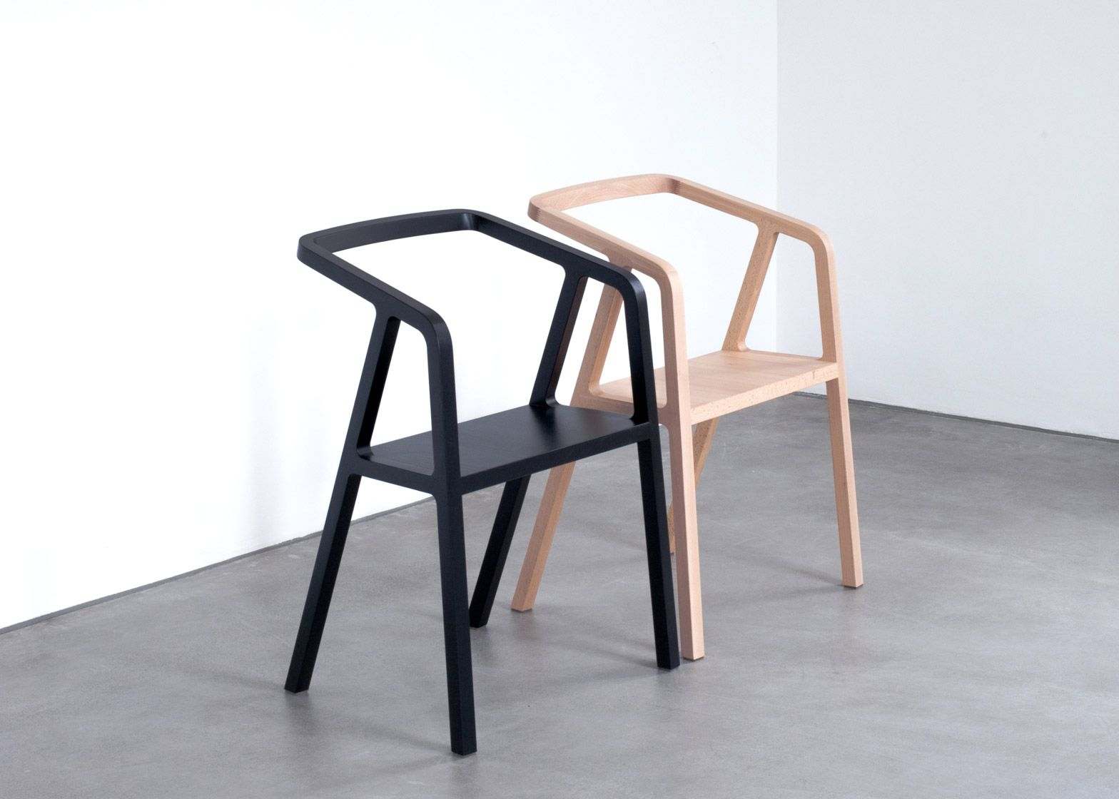 minimal furniture design. achair austrian product designer thomas feichtner has collaborated with a group of craftspeople minimal furniture design
