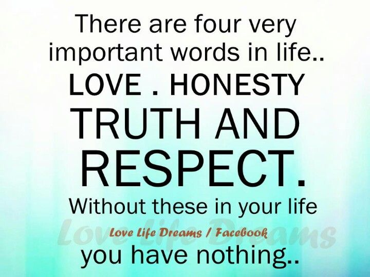 4 impt words
