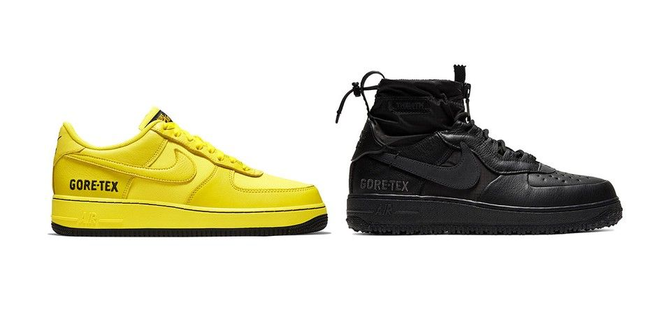 Nike Delivers Even More Air Force 1 GORE TEX Sneakers | Nike