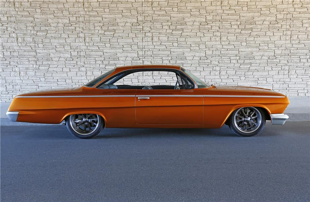 1962 Chevrolet Bel Air Custom Bubble Top Barrett Jackson Auction Company World S Greatest Collector Car Auctions