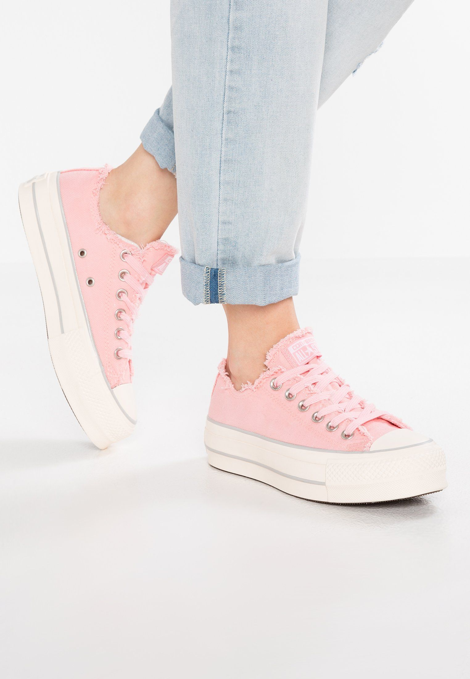 ca11de126a7fe Converse CHUCK TAYLOR ALL STAR LIFT - Trainers - blossom sheer pink mouse -  Zalando.co.uk