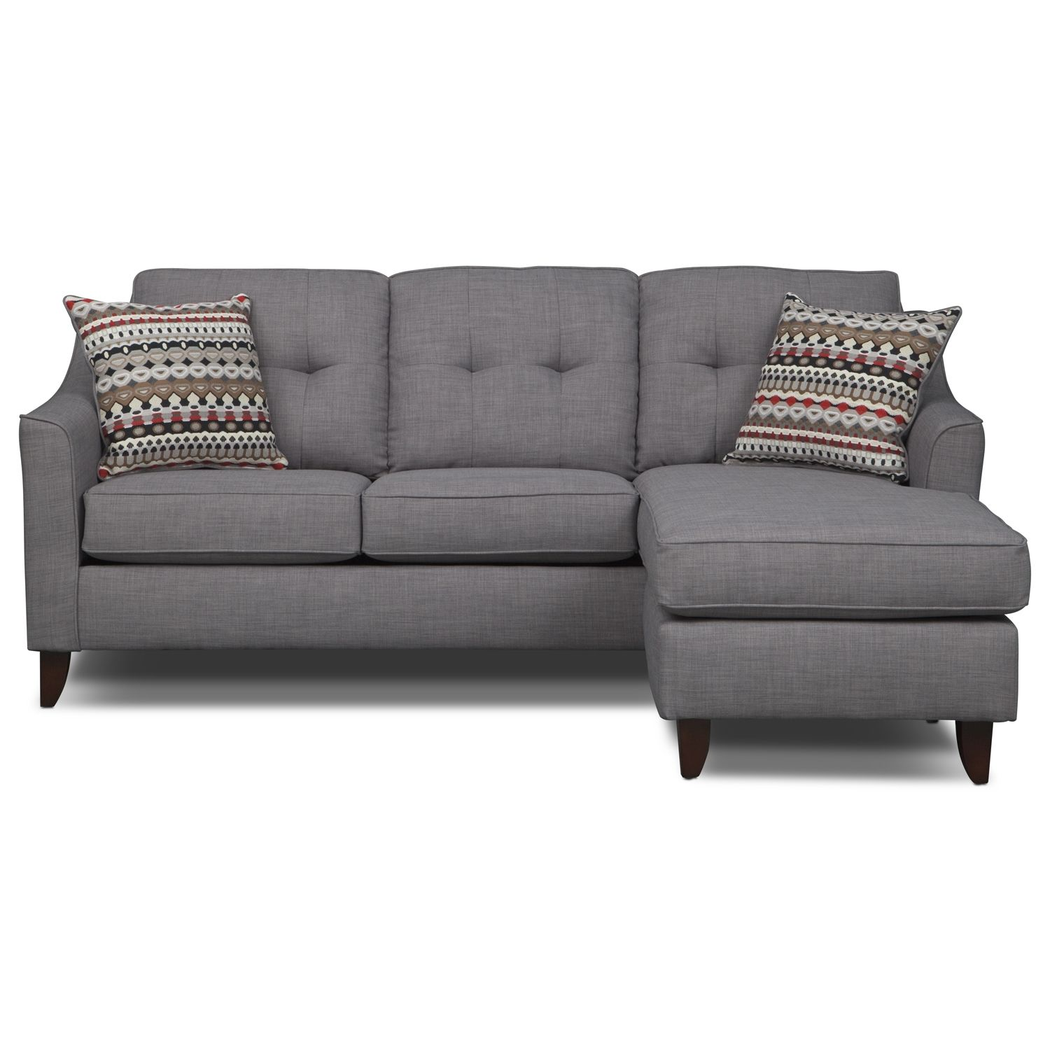 Value City Furniture Living Room Marco Chaise Sofa Value City Furniture Houseware Pinterest