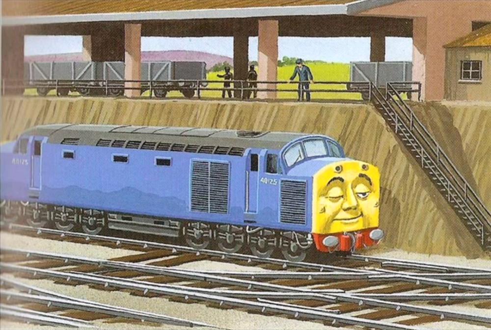 Old Stuck-Up   Railway Series   Thomas the tank, Thomas