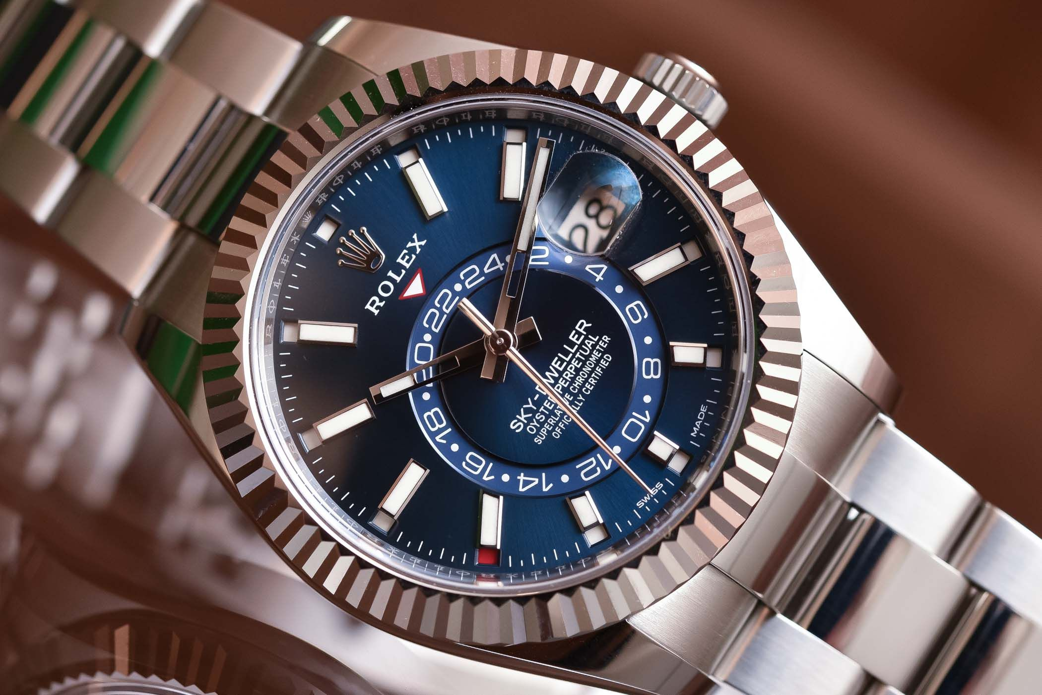 Rolex Sky,Dweller Steel 326934 \u0026 Two,Tone 326933 , Review