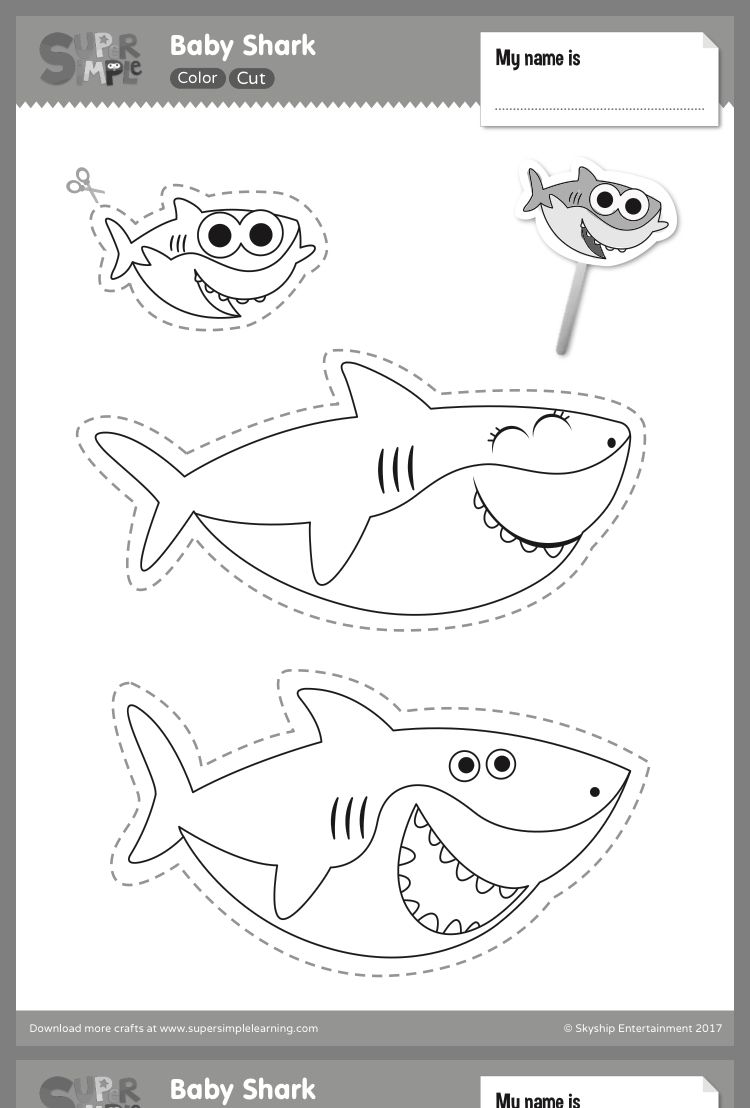 Pin by Marilyn Torch on Kids craft ideas | Shark crafts preschool, Shark  craft, Shark coloring pages