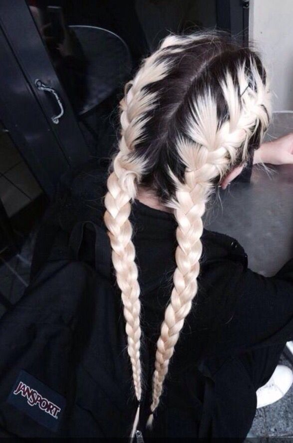black and white, blonde, boho, braids, brunette, goals, grunge, hair, hippie, hipster, outfit, style, tumblr, vintage