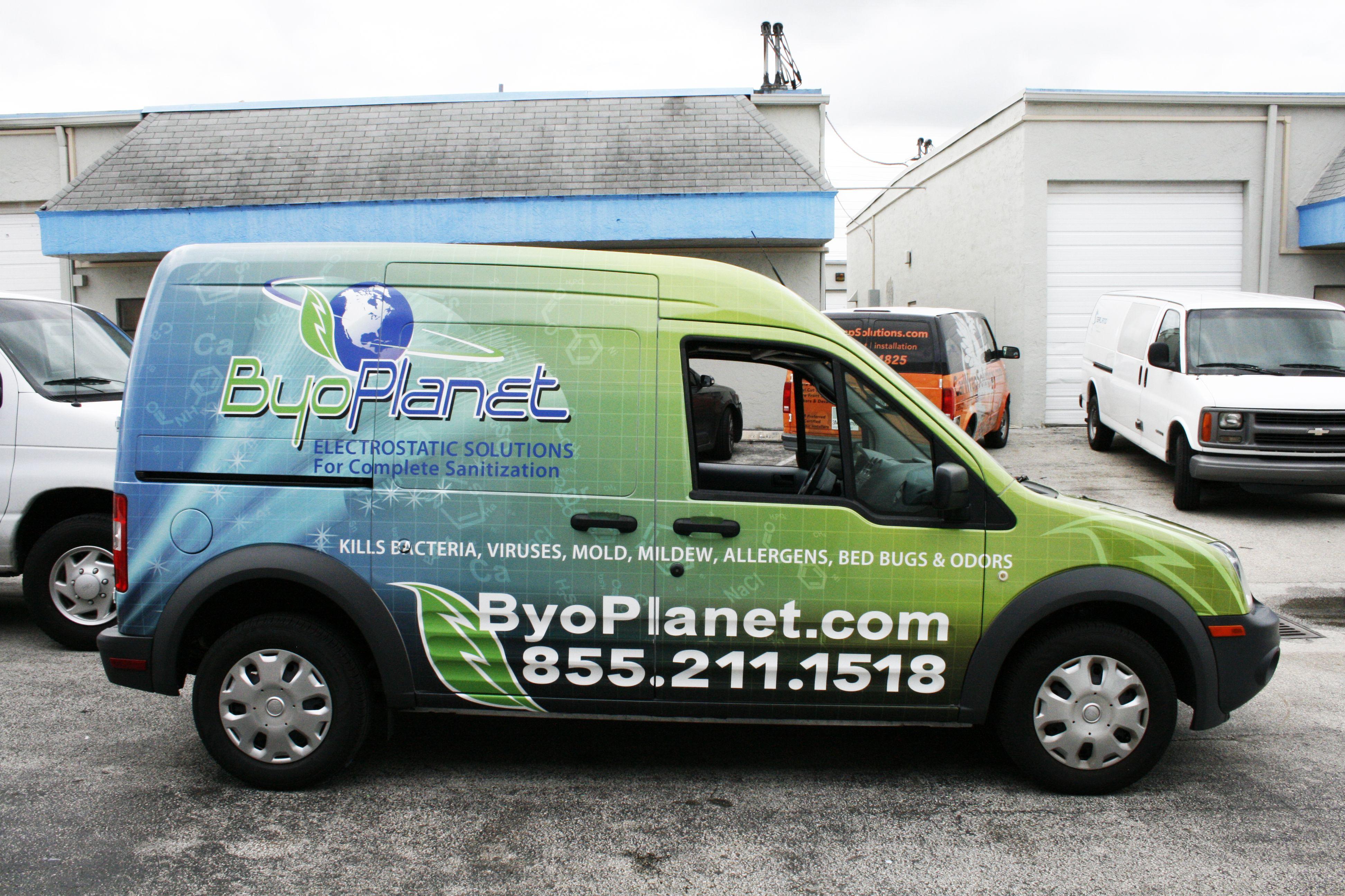 Ford Transit Connect Van Wrap Sunrise Florida Http Www