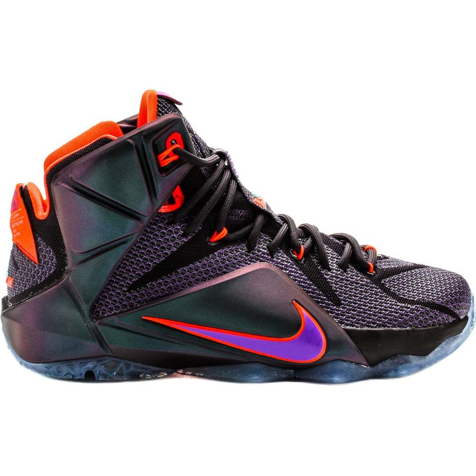 lebron nike shoes purple
