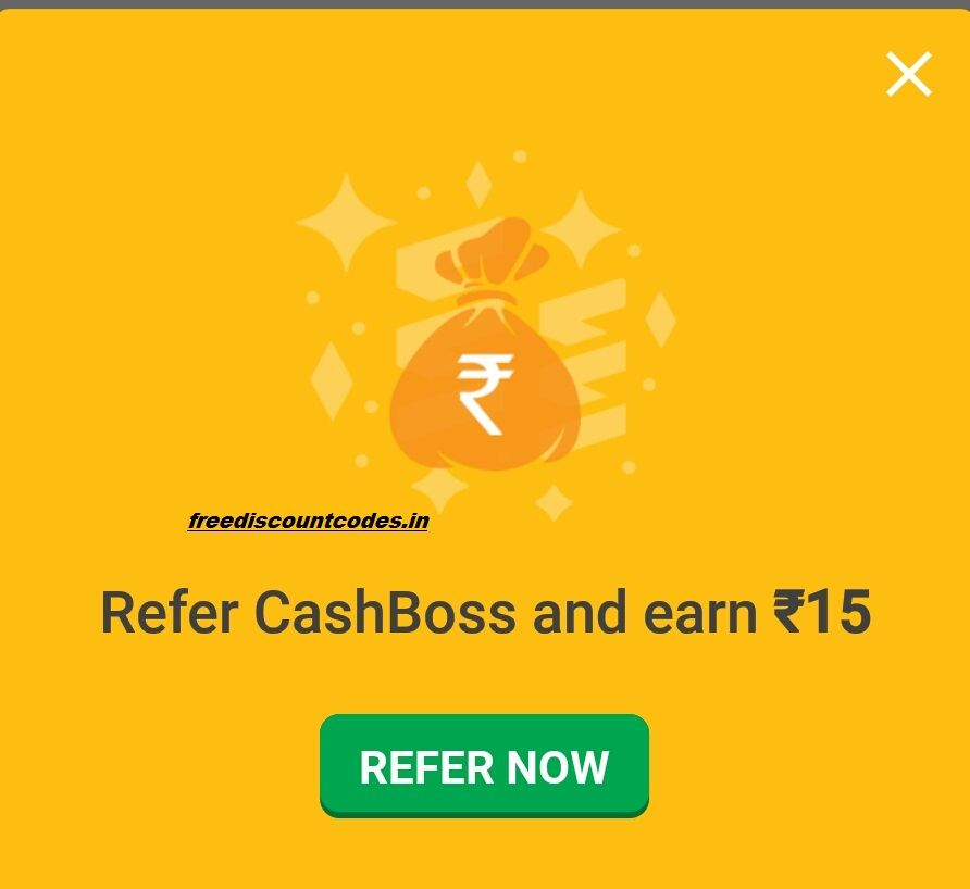CASHBOSS APP REFER AND EARN :- REGISTER WITH CASHBOSS REFERRAL CODE