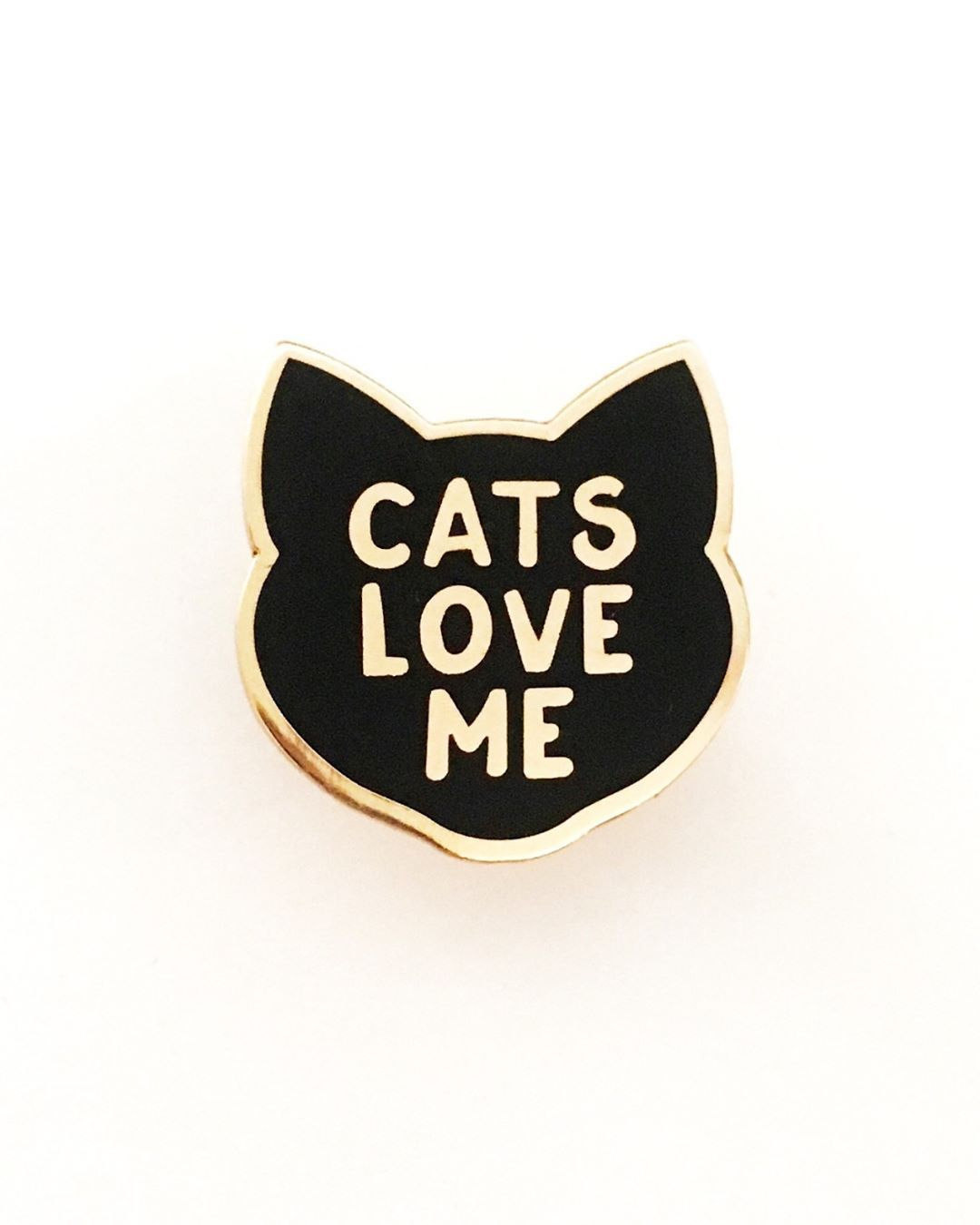 """386 Likes, 9 Comments - Pin Lord (@pinlord) on Instagram: """"Cats Love Me pin from @claireyloucreations ❤ They do! Buy it through their link in bio!"""""""