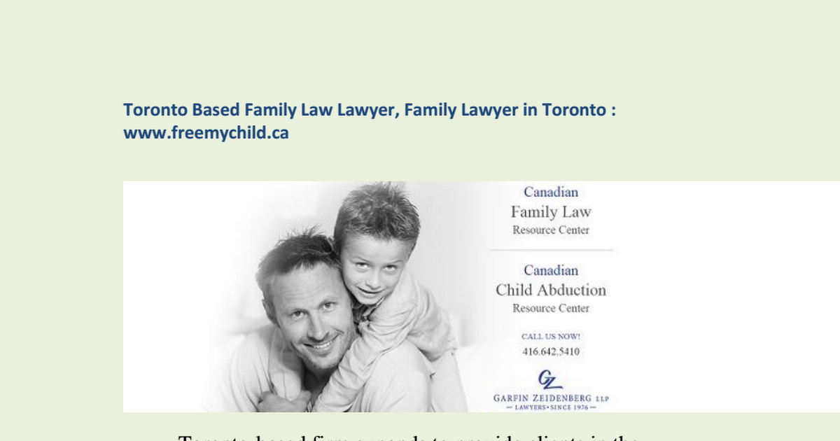 Pin by Free Mychild on Family law lawyer in Toronto