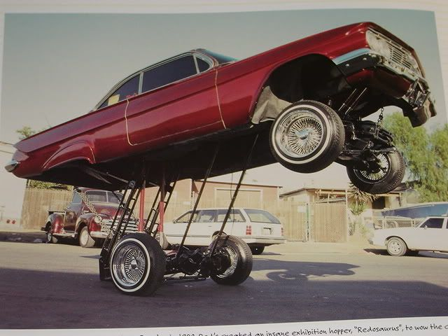 Cars With Hydraulics: Low Rider, Low