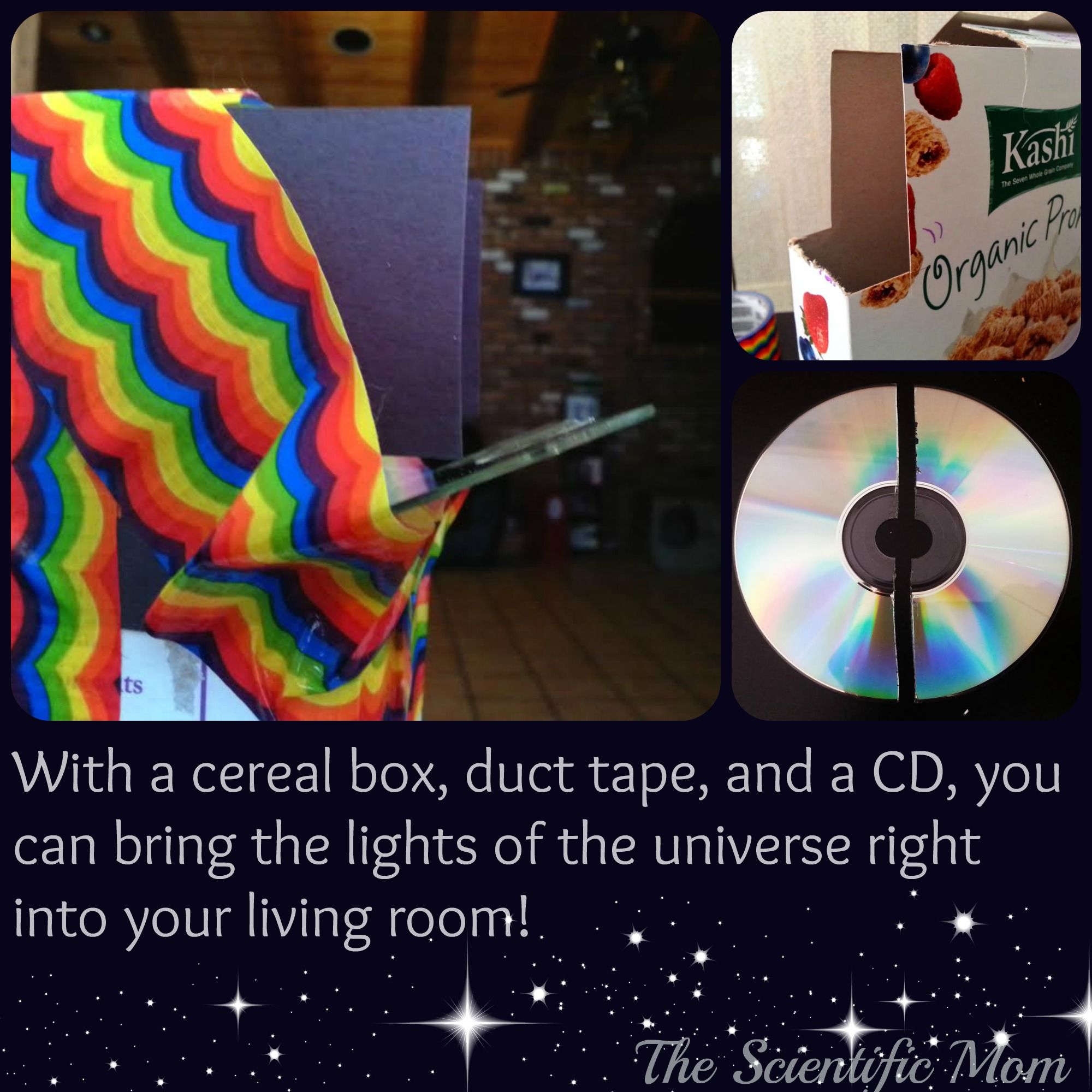 cereal box spectrometer