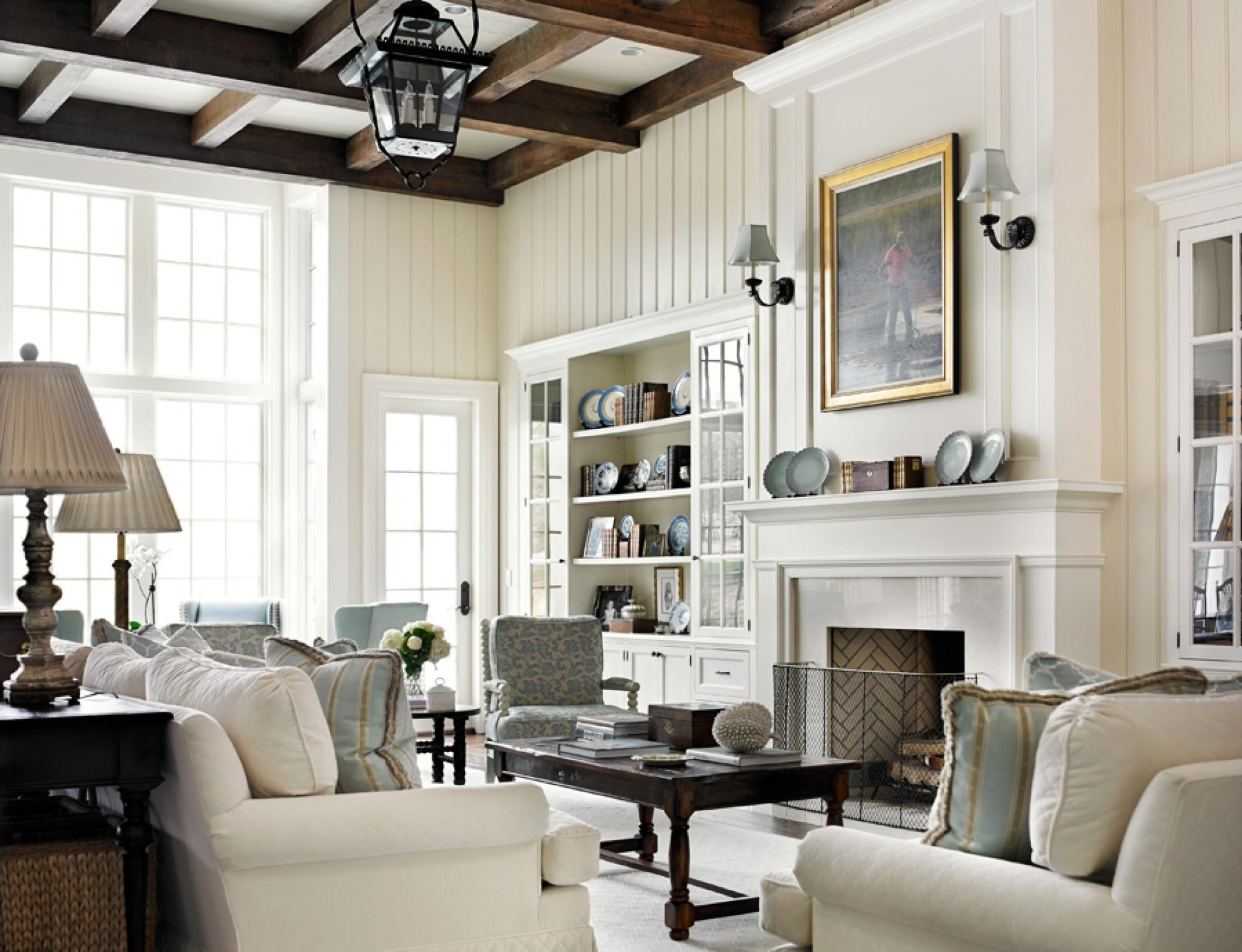 I love all of the details in this beautiful living room | Dream Home ...