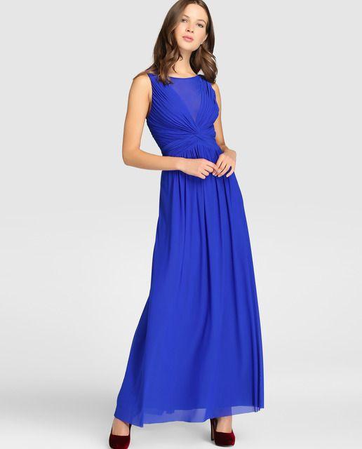 Vestidos de fiesta azul el corte ingles