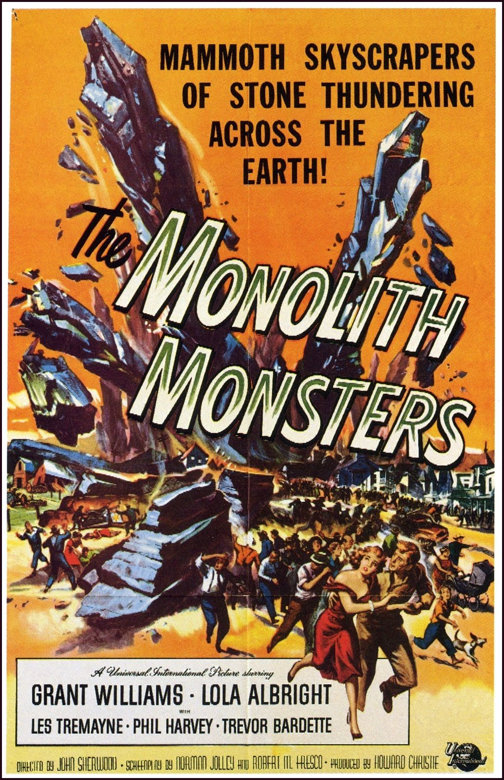 1957, The Monolith Monsters