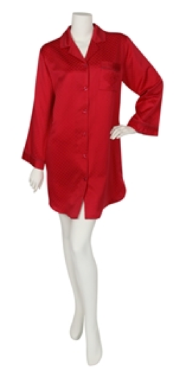 c897a76b6c Miss Elaine s showing their Cardinal spirit! Get this Cardinal red sleep  shirt now!