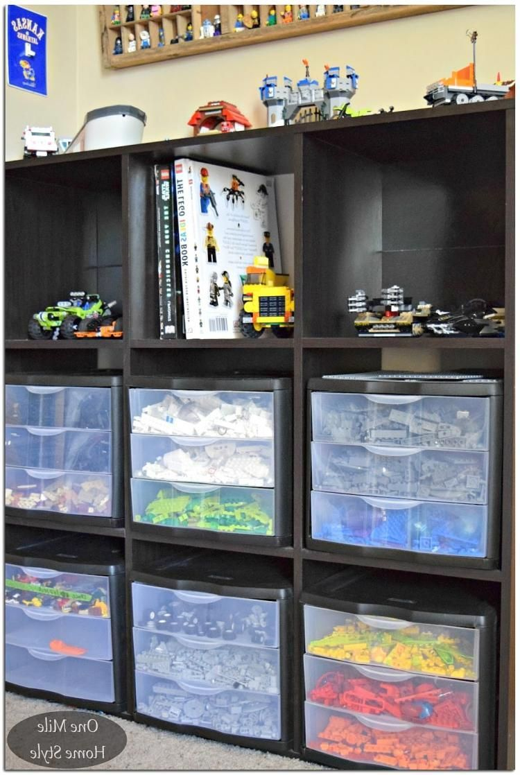 10 Diy Toy Storage Ideas For Any Space Room Organization Lego