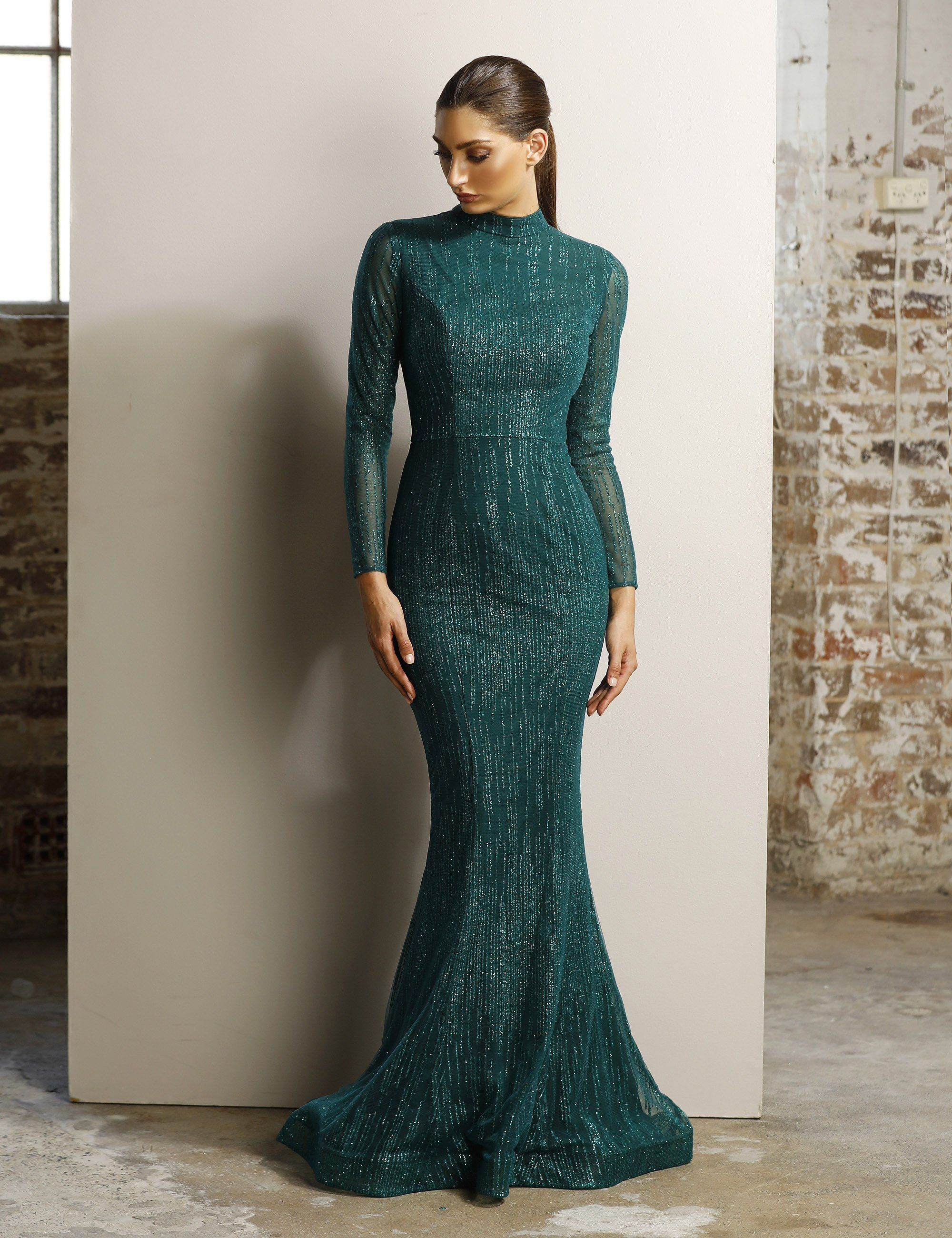 0c8e4541d7e0 JX1117 Evening Dresses With Sleeves