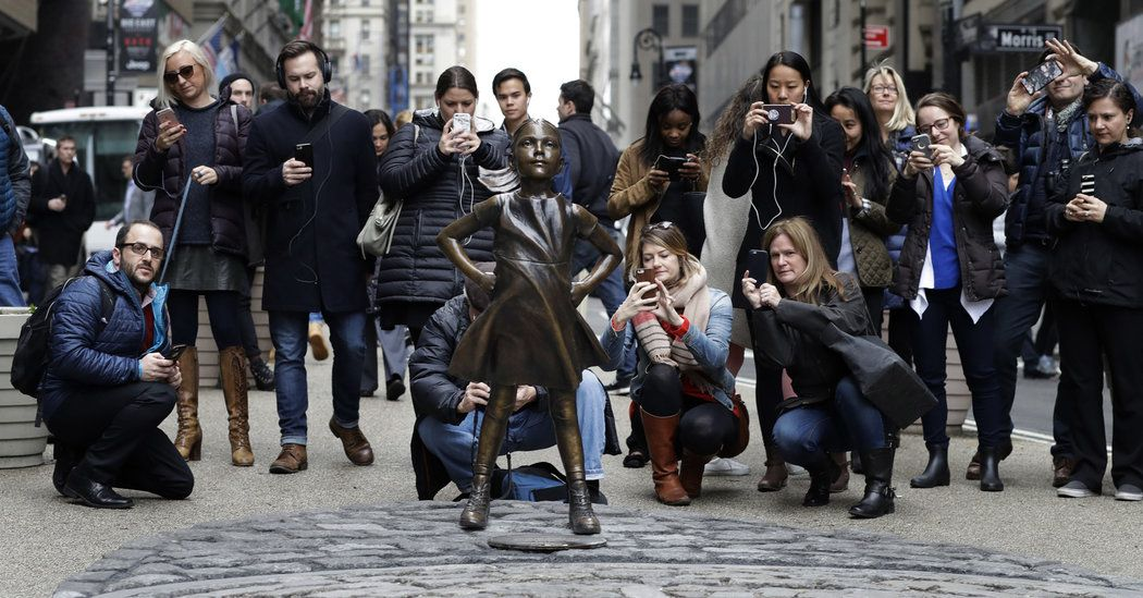 A statue intended as a symbol of women's power may be Instagram-friendly, but it's a covert exercise in corporate imaging, our columnist writes.