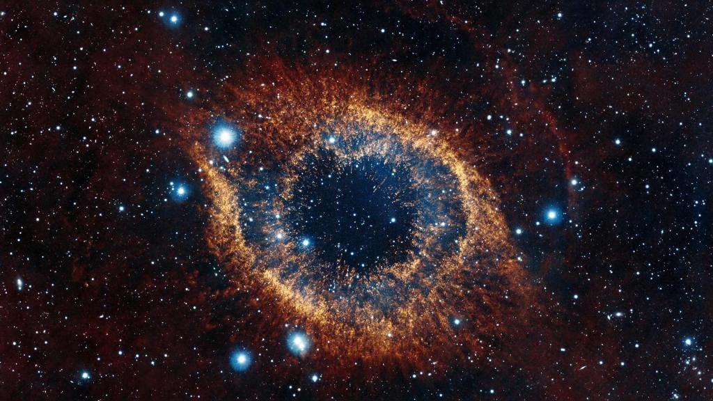 Helice Nebulosa Espacio Estrellas Explosion Brillantez Fond D Ecran Nebuleuse Nebuleuse Fond D Ecran Pc