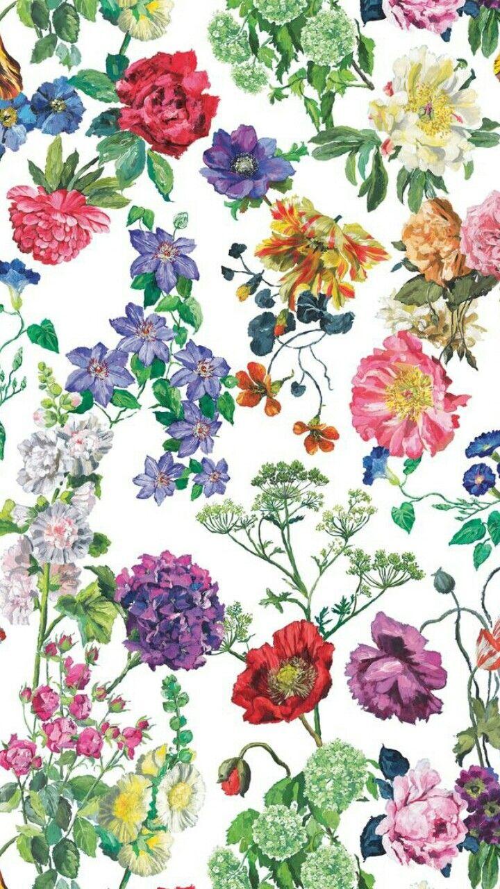 Brigitte Black Floral Wallpaper Departments DIY at B&Q