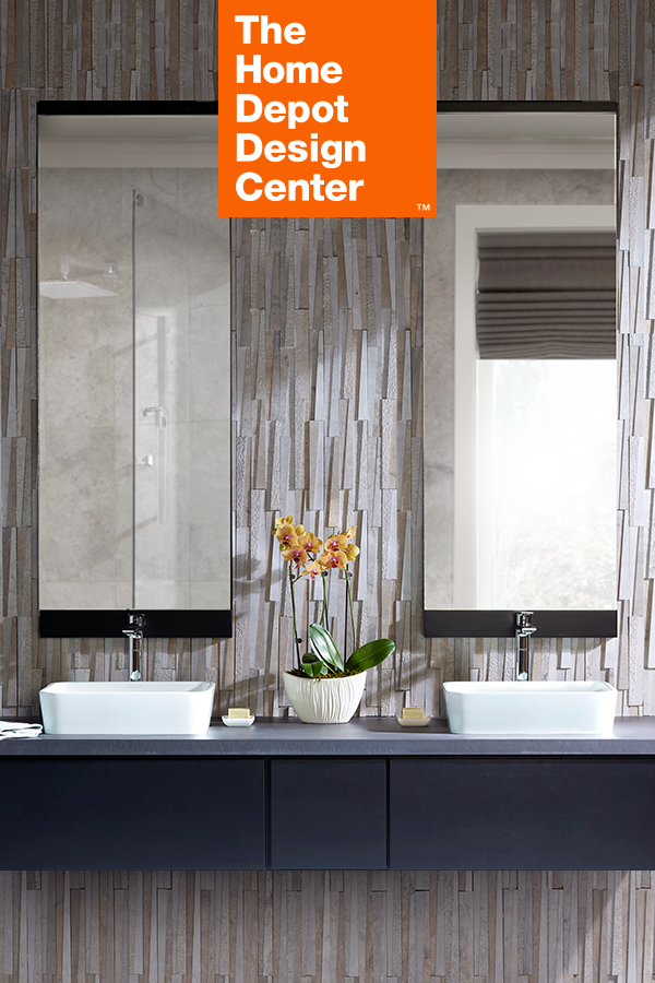 Explore Styles Like Floating Vanities, Vessel Sinks, Pedestal Sinks And  More At The Home Depot Design Center.