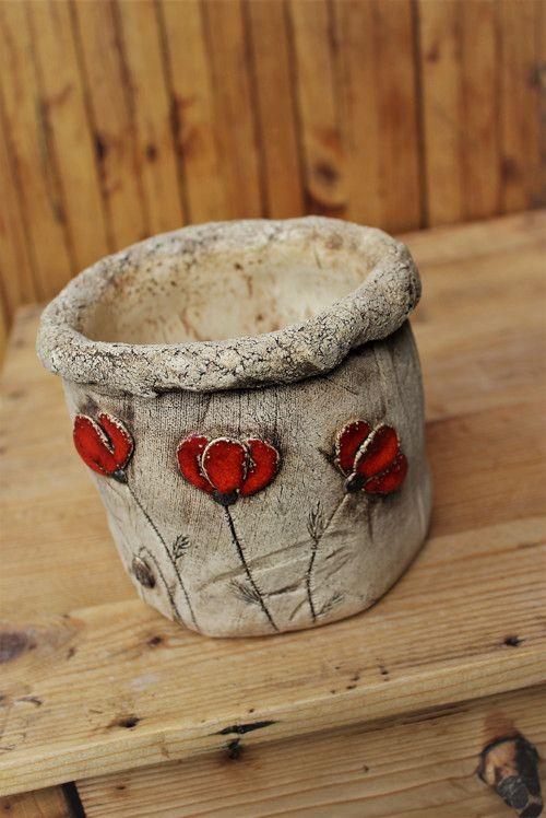 Vařečkovník s vlčími máky II. / Zboží prodejce Keramika