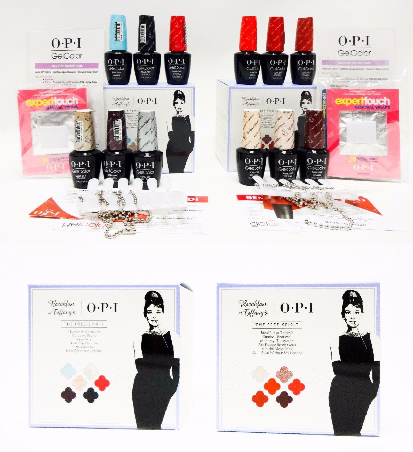 Gel Nails: Opi Nail Gelcolor Breakfast At Tiffany S Audrey Hepburn ...