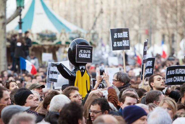 #JesuisCharlie #NoussommesCharlie #ParisestCharlie #EuropeestCharlie