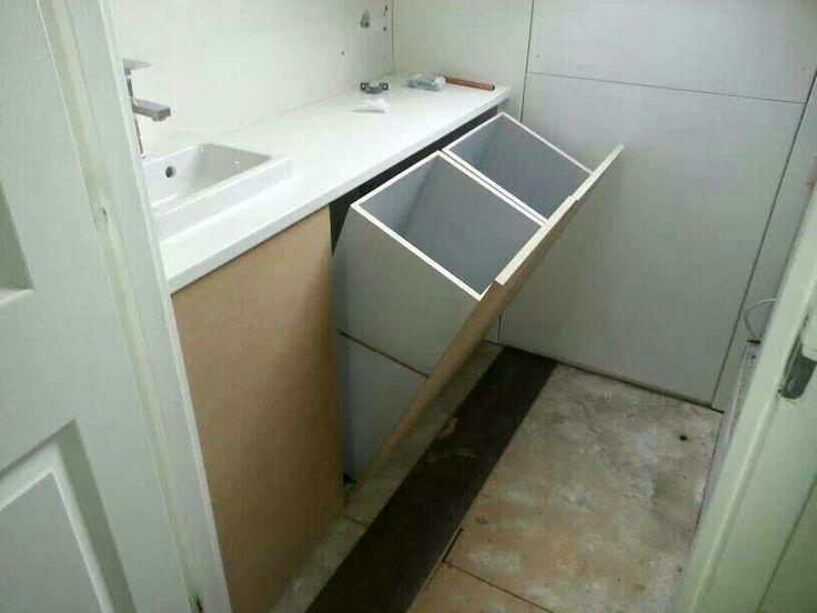 Ikea Badkamer Wasmanden : Afbeeldingsresultaat voor inbouw wasmand ikea schuurindeling in