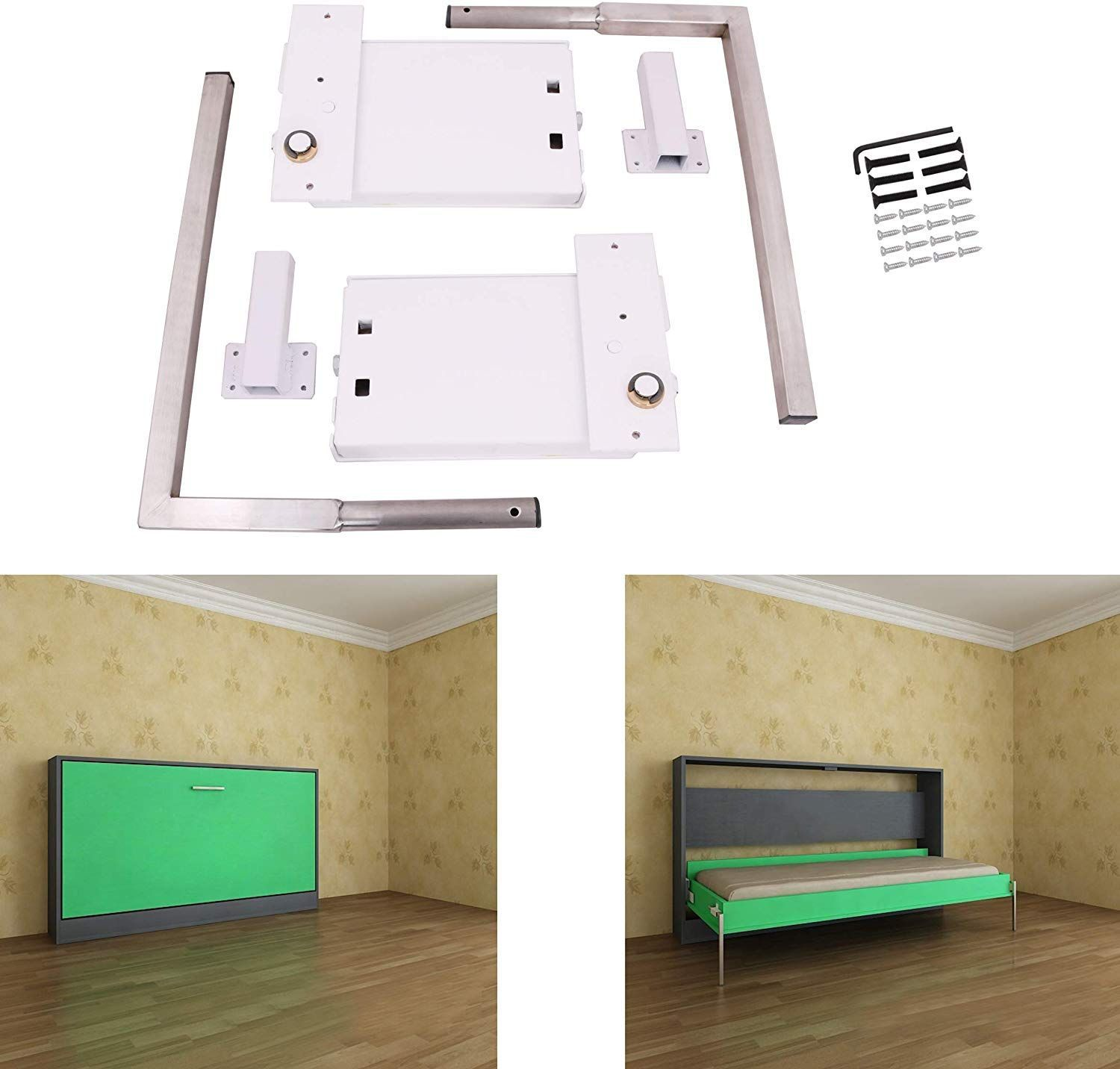 ECLV Horizontal Murphy Wall Bed Springs Mechanism Hardware