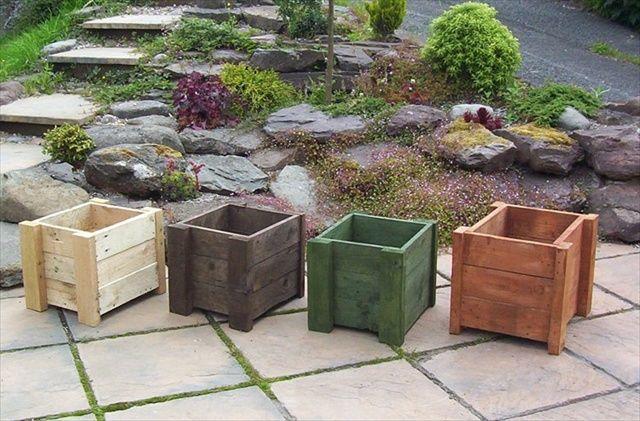 Planet Box Wood Pallet Planters Pallet Garden Pallets Garden