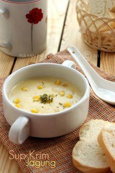 Sup Krim Jagung Sup Krim Makanan Enak Makanan