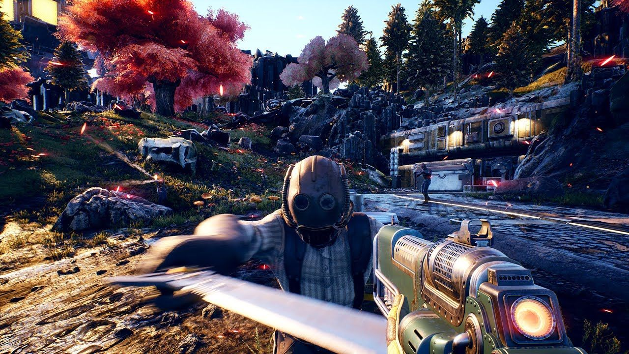New Fps Games 2020.The Outer Worlds Gameplay Development Reveal New Space