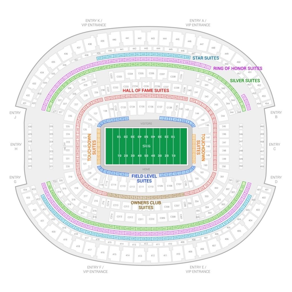 The Elegant Ou Football Stadium Seating Chart