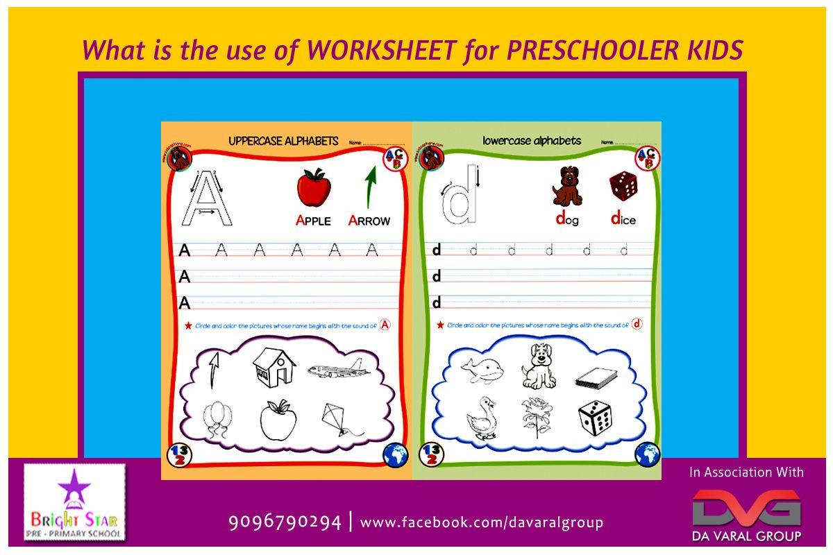 Brightstar What Is The Use Of Worksheet For Preschooler