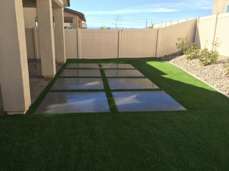 From dirt to green another project completed by