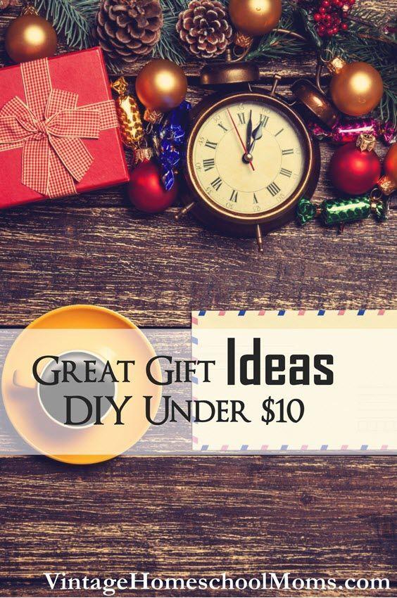 Ten Dollar DIY Great Gift Ideas | Gift