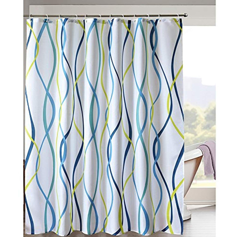 Lanmeng Elegance Luxury Bathroom Shower Curtain Waterproof And