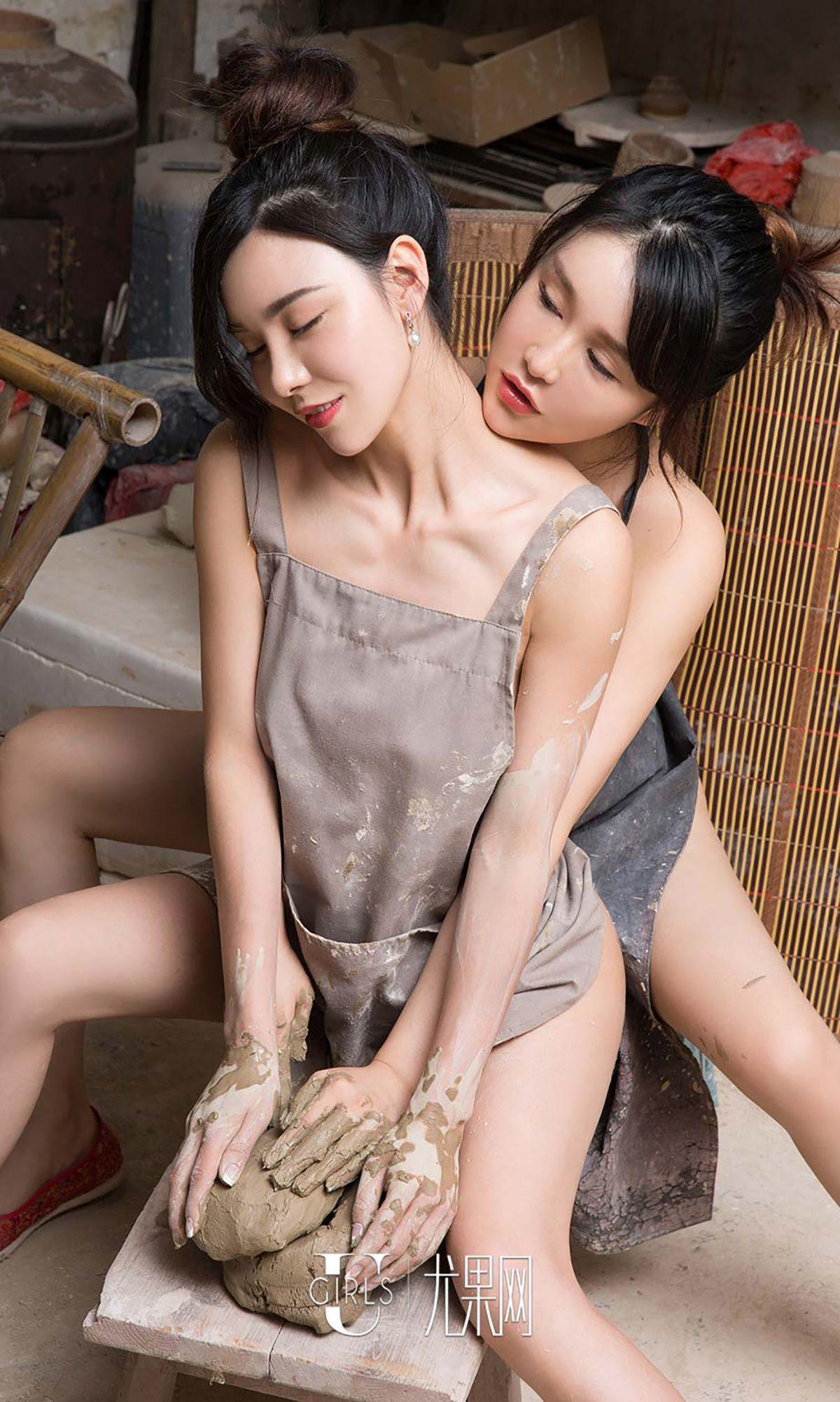 [爱尤物] No.484 颜爱泽/沈嘉熹/于思琪 - 中秋瓷2