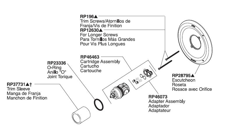 Delta Cartridge Replacement