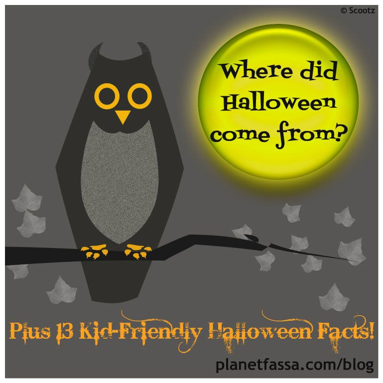 where did halloween come from kid friendly answers and some fun facts for the - Where Did The Holiday Halloween Come From